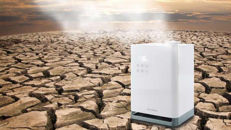 Oro drėkinimas sausroje