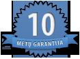 10 metų garantija