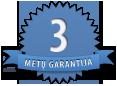 3metų garantija