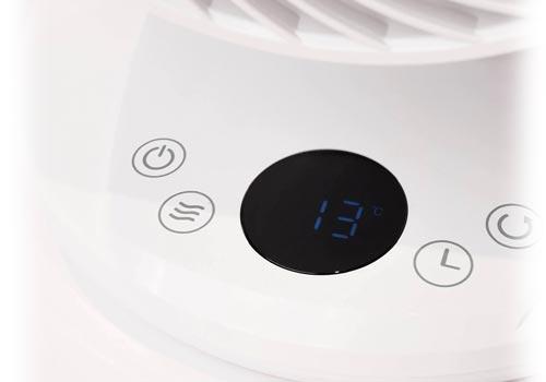 MeacoFan 650 ventiliatoriaus valdymo ekranas