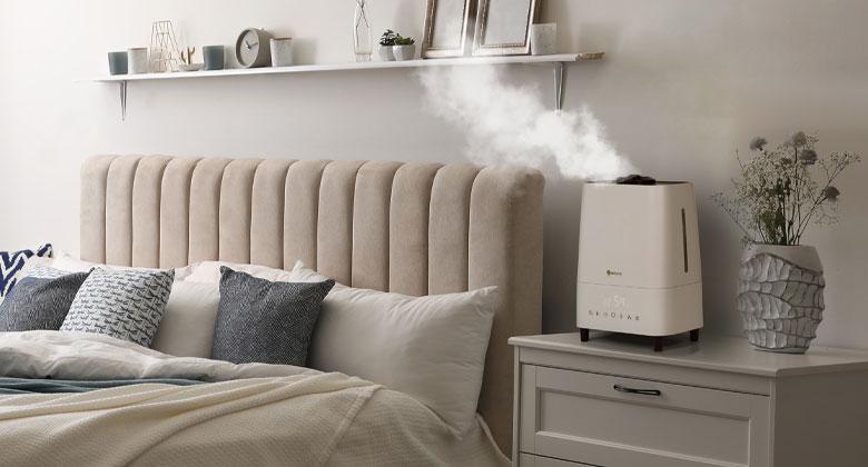 Oro drėkintuvas miegamojo kambaryje - Orosprendimai