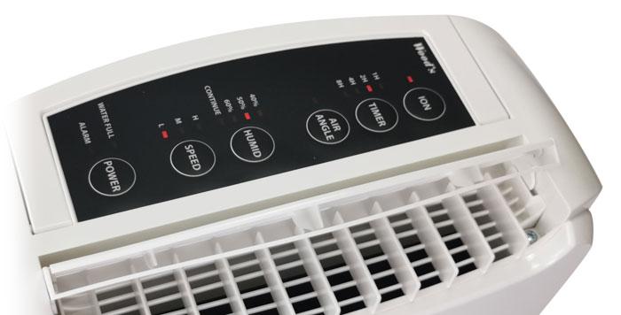 õhukuivati - kuivati WDD80 juhtpaneel