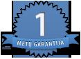1metų garantija
