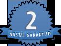 2-aastane garantii