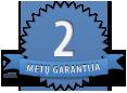 2 metų garantija
